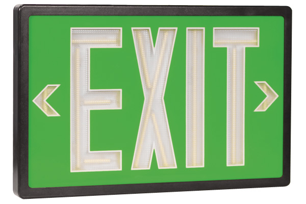 Wireless Emergency Lighting Tritium Exit Signs