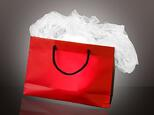 well-lit shopping bag