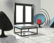 LED LIGHT WALL PANEL WINDOW
