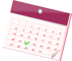 calendar to schedule an LED upgrade