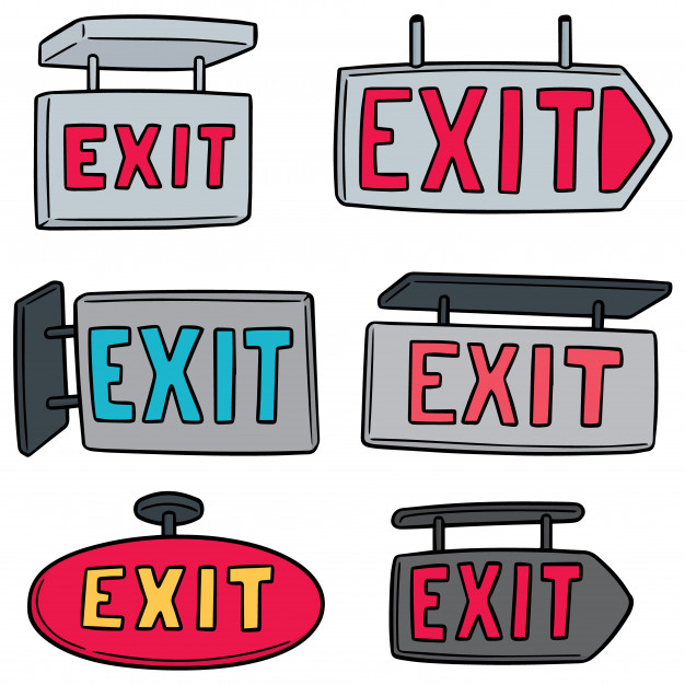 Different Types Of Exit Signs To Consider